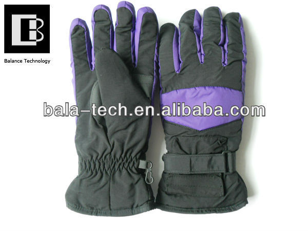 Electric heated motorcycle gloves