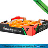 Fruit paper packing box wholesale / corrugated paper fruit packing box suppiler