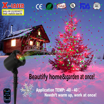 Waterproof Christmas laser light Outdoor laser light