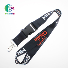 Hot Selling Cheap Polyester Neck Lanyard Accessories With Custom Company Logo