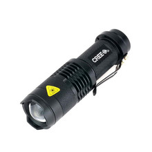 High Quality Mini LED Flashlight 2300LM Waterproof Q5 LED Flashlight 3 Modes Zoomable LED Torch Adjustable Penlight