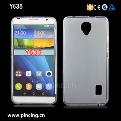China Factory Mobile Phone Case,Pudding frosted Soft TPU For Huawei Ascend Y635 Case