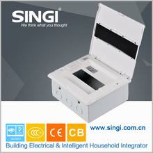 size of distribution board 8 ways electrical distribution box design flexibly high quality ABS material power distribution box