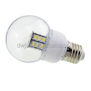 led headlight bulb E26E27 4 W 27 SMD 5730 500 LM Warm White G Globe Bulbs DC 12AC 12AC 24DC 24 V