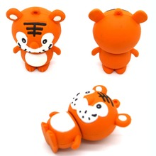 tiger animal shape USB flash drive usb 2.0 memory stick pen thumb drive