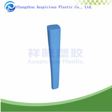 customized shape blue color epe foam tube