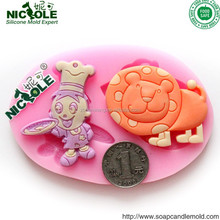 Simba fondant moulds Lion King cake decoration stuff fondant cake mould valentine heart silicone rubber molds F0574