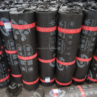 Crumb Rubber Modified Bitumen Reinforced Waterproof Membrane For Roof And Wall