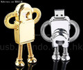 2016 Shenzhen factory price robot promotional 4tb usb2.0 flash drive 3.0 tv player