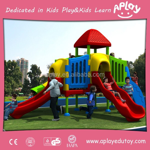 Interesting Plastic Outdoor Play Toys Equipment for 3 to12 Years Old Kids for Outer Place Items AP OP30009