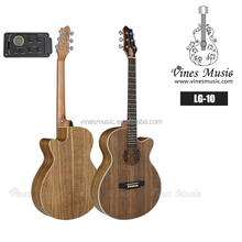 Korean string electric acoustic guitar in cheap price manufacturer