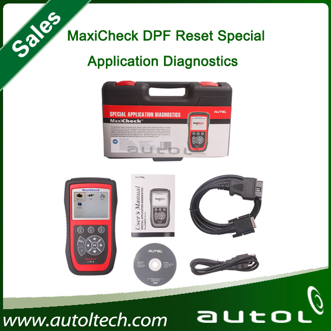 DHL Fast Shipping Automotive test instrument diagnostic tool 2017 Autel MaxiCheck DPF Reset Special Application Diagnostics