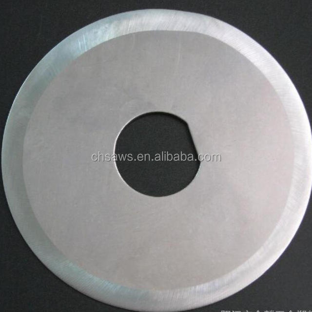Circular saw blade/knife blade for cutting meat