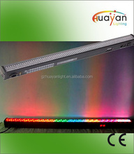 LED DMX Color Rail 252*10mm RGBW LED Wall Washer Light