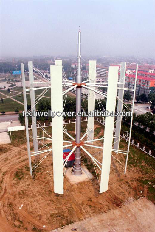 500kw Vertical axis wind turbine