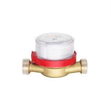 15mm dry dial single jet cheap water meter