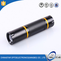 Super Bright Geepas Rechargeable LED Flashlight