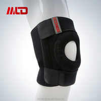 2015 Hot Football Basketball Volleyball Black Durable Guard Pad Knee Support With OEM Service
