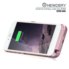 2016 New arrival slim battery charger portable power bank power case for iPhone 6 Plus & 6S Plus metallic case for macbook pro