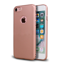 Factory Price Metallic Color Rubber Coated Plastic Phone Case For IPhone 5 6 7 8 X