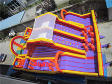 Lanqu Toddler Inflatable playground juegos inflables china