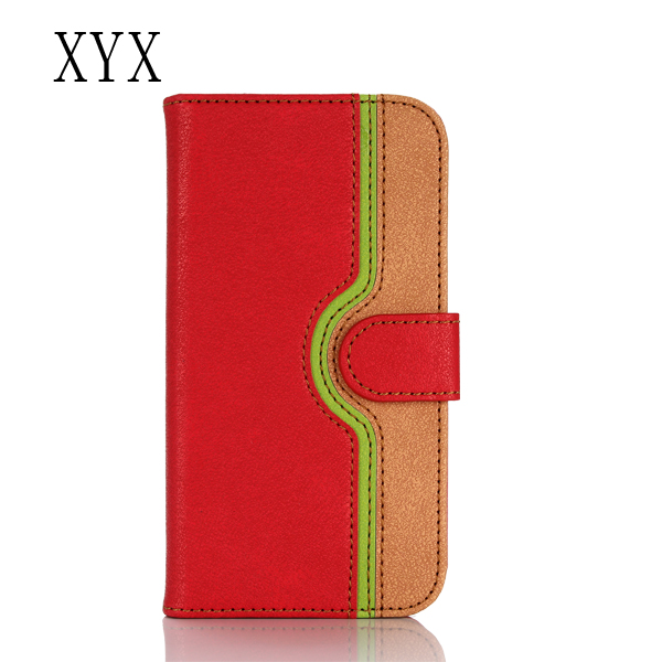 Magentic Synthetic Leather pu leather mobile flip cover case for lg e975