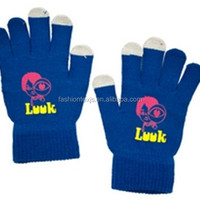 Wholesale Cheap Custom Texting Gloves Knit
