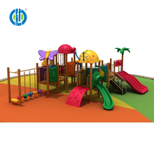 Custom childrens comfortable swings and slide kids outdoor playground amusement rides