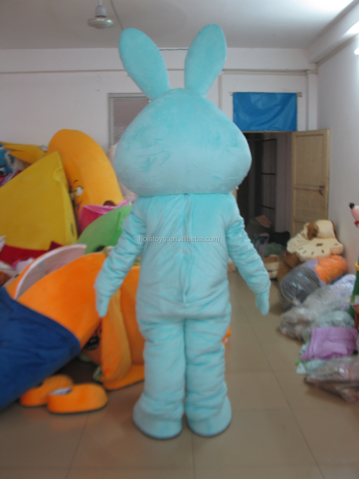 Hola new bunny costume/easter bunny costume/professional cartoon character costumes