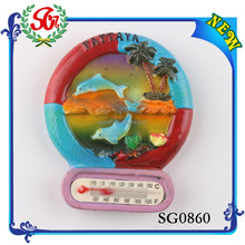 SGM0860 Pattaya Beach Souvenir Fridge Magnet Item,Promotional Fridge Magnet Thermometer
