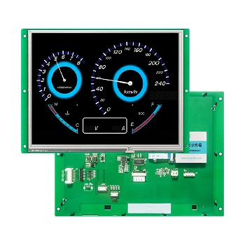Color Intelligent Digital Resistance Touch And Display Panel Of Industrial Equipment