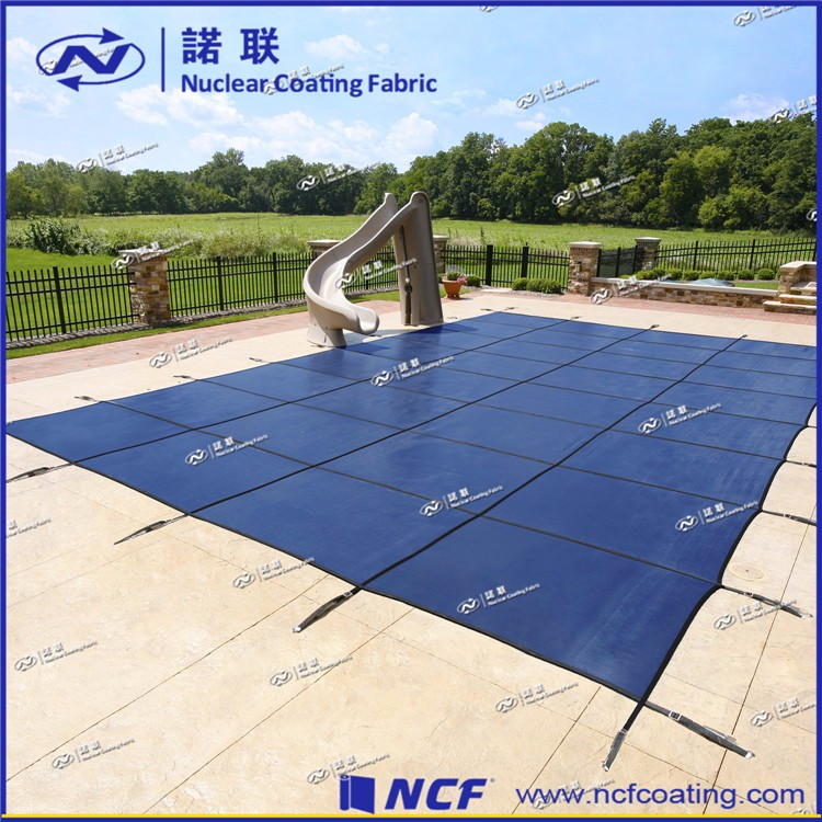 Custom size swimming pool winter cover and PVC material waterproof swimming pool cover