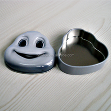 popular cartoon role smile face tin can