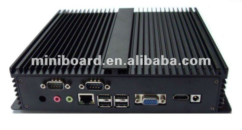 Embeded Industrial PC based on D525 supports HDMI and 2xRS232
