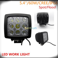 5.4INCH 90W ROUND SPOT LED DRIVING WORK LIGHTS