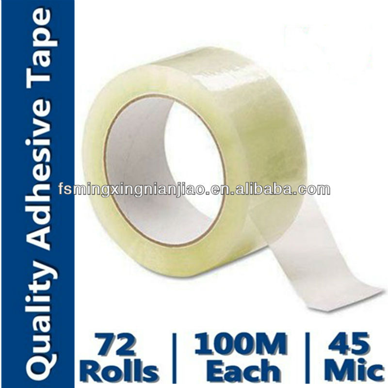 Strapping Band Tape (Bopp film coating with acrylic and paper core)