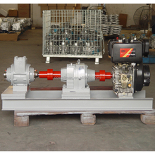 diesel engine drive fuel oil silding rotary vane vacuum pump/hydraulic pumps