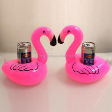 free sample hot selling cup holder free sample cup holder floating Inflatable Flamingo cup holder