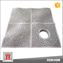 Gypsum Metal 600x600 Composite Fireproof Panel Plafond Profile Tiles Curved Aluminum Ceiling