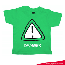 casual clothes 2016 trend t shirt for kids silk screen t shirt