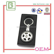 Promotional Gift Spinning Tire Key Chain for car