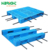 China factory price heavy duty plastic euro pallet with reinforcement steel bar for pallet racking systems