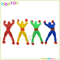 93x35mm Kids Funny Sticky Climbing Wall Spider Man Toy