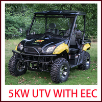 2016 NEW Desigh 72V Electric UTV 4x4 EEC 5KW 4x2 Electric UTV