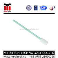 Low Particle Non abrasive Dust removed double Layer Polyester Cleanroom Swab PS714 for Motorcycle Cleaning
