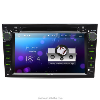 EONON GA8156 for Opel /Vauxhall /Holden Android 7.1 Octa-Core 2GB RAM 7 inch Car Radio DVD GPS Navigation Compatible with HDMI