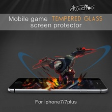 Chinese Manufacturers Mobile Acessories full coverage Tempered Glass Japan Material Screen Protector For iPhone 6 / 7