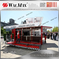 CH-AF031 manufacturer supply 20ft shipping container shop mobile coffee shop for sale