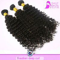Prompt delivery!!Befa hair kinky curly 100% virgin hair extension brazilian curly weave