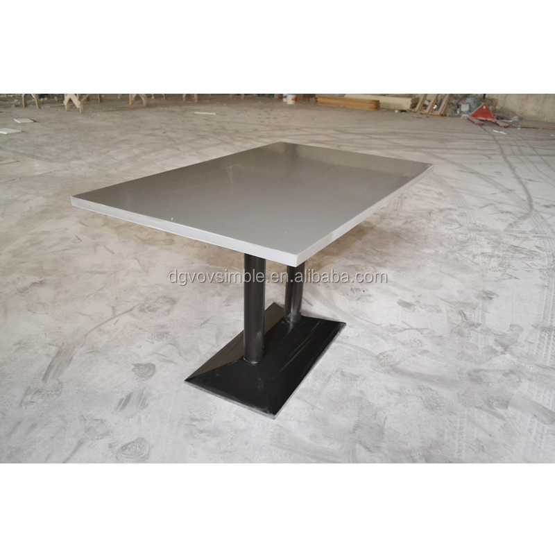 Solid Granite Top Coffee Table: Restaurant Dining Table Artificial Stone Table Top,Acrylic